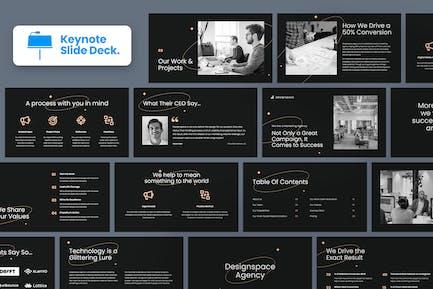 Dark Minimal Agency Pitch and Company Profile