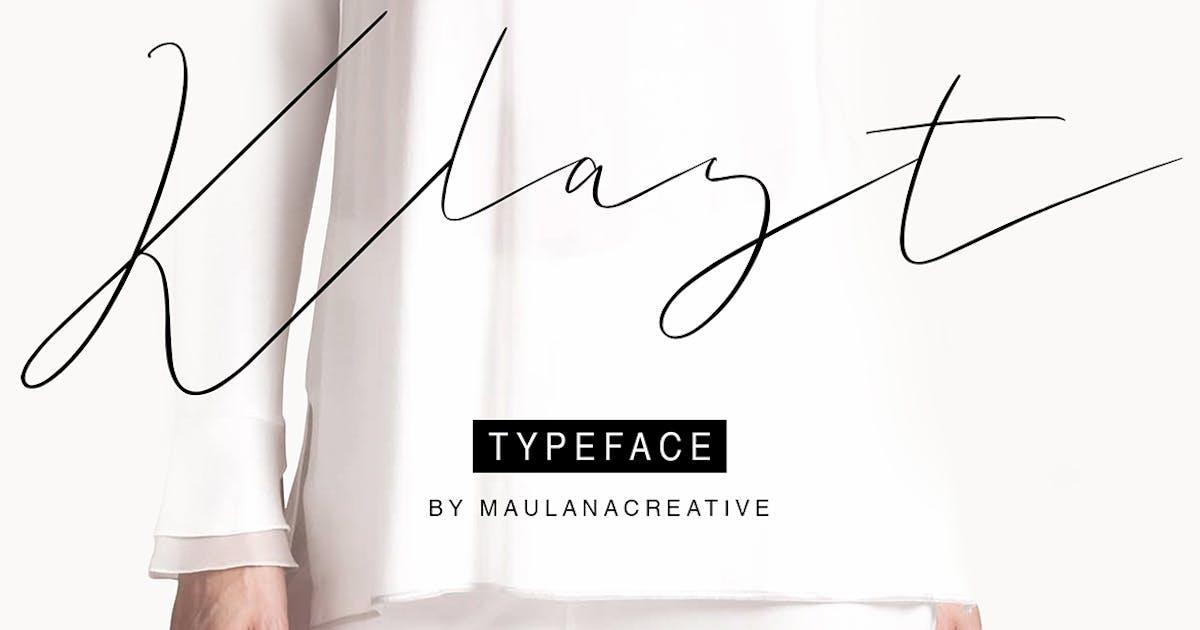 Download Klast Typeface by maulanacreative