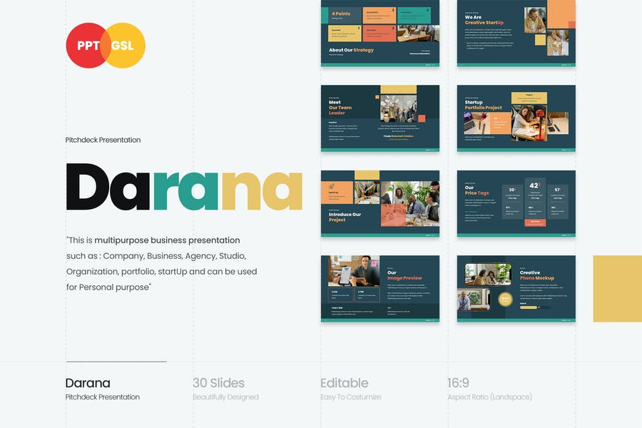 Darana - Startup Pitchdeck