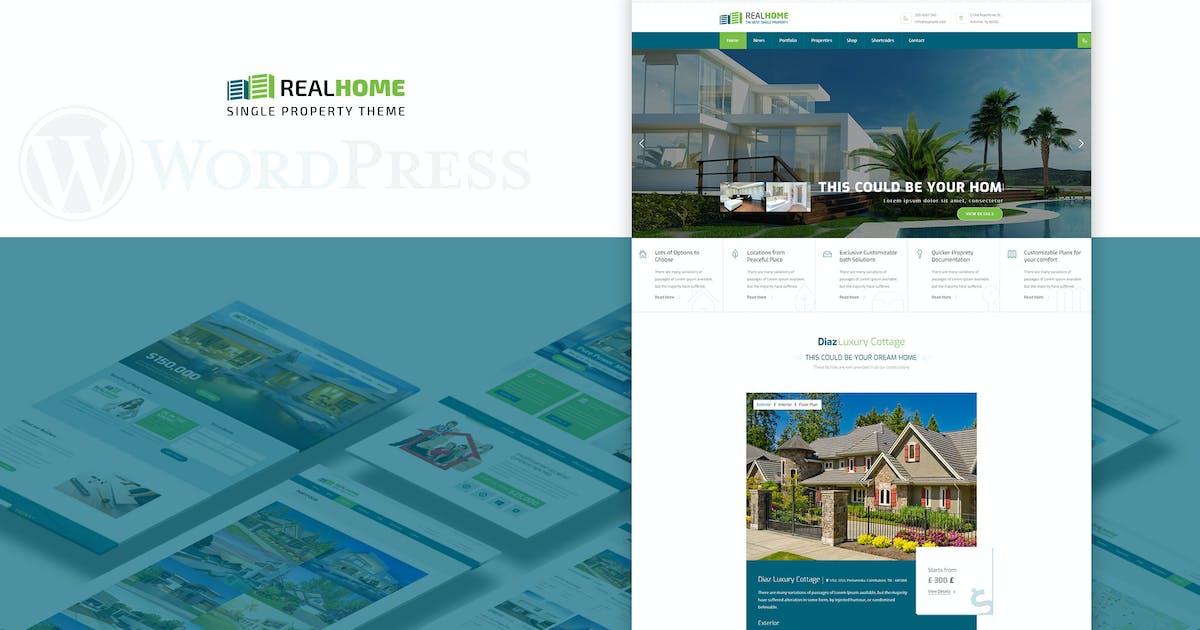 Download Single Property   Real Estate Theme by designthemes