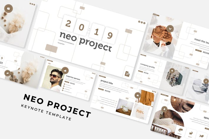 Thumbnail for Neo Project - Keynote Template