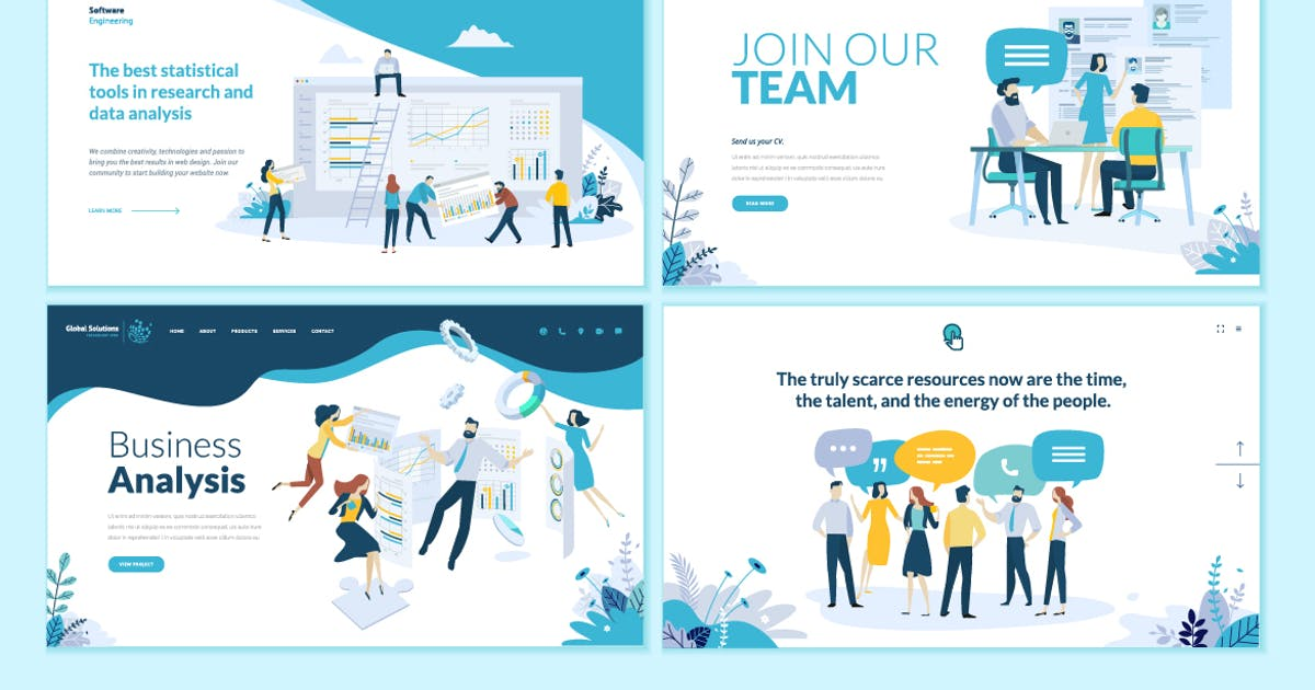 Download Business Web Design Templates by PureSolution