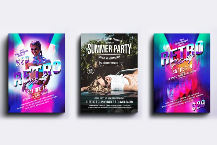Thumbnail for Event Party Posters & Flyers Bundle V3