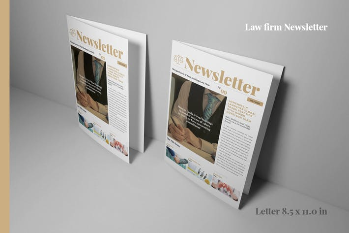 Thumbnail for Law Firm Newsletter