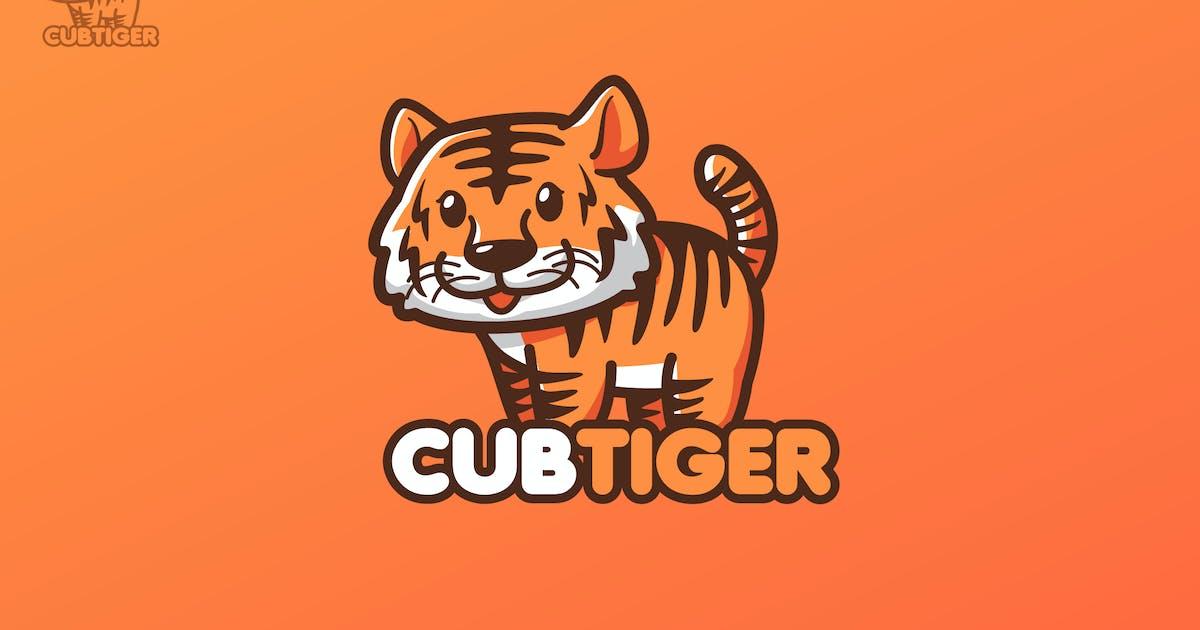 Download CUBTIGER - Mascot Logo by aqrstudio