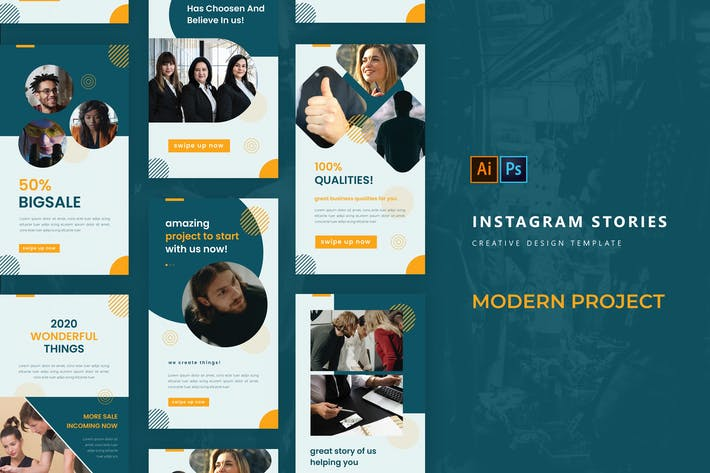Modern Project Instagram Story