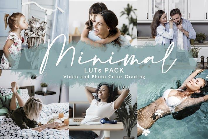 Thumbnail for MINIMAL - LUTs Pack | Цветовое профилирование