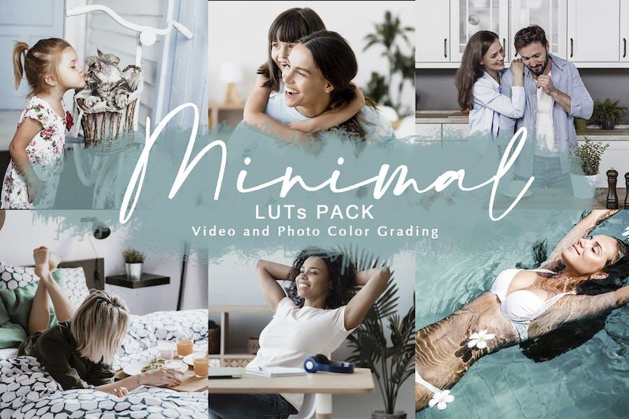 MINIMAL - LUTs Pack | Color Grading