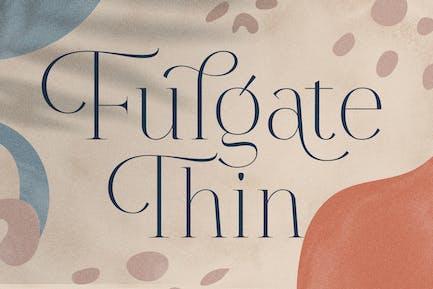 Fulgate Thin