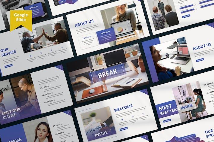 Thumbnail for Inside Creative Business Google Slide Template