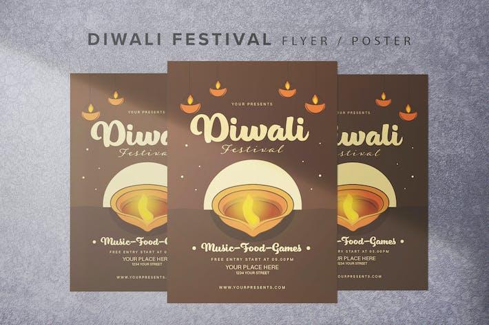 Thumbnail for Diwali Festival Flyer
