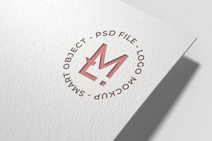 Thumbnail for Letterpress Logo Mockup Vol2