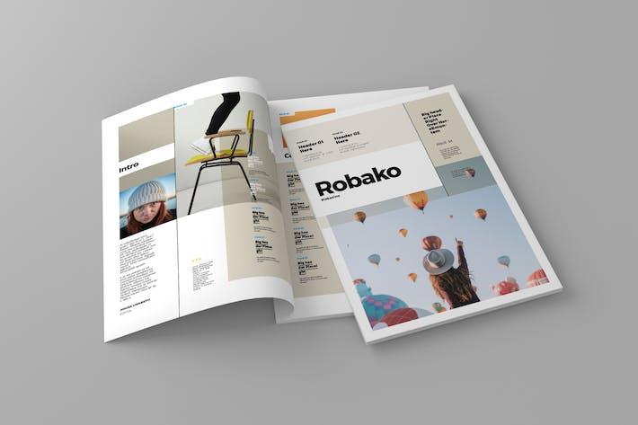 Thumbnail for Robako - Magazine Template
