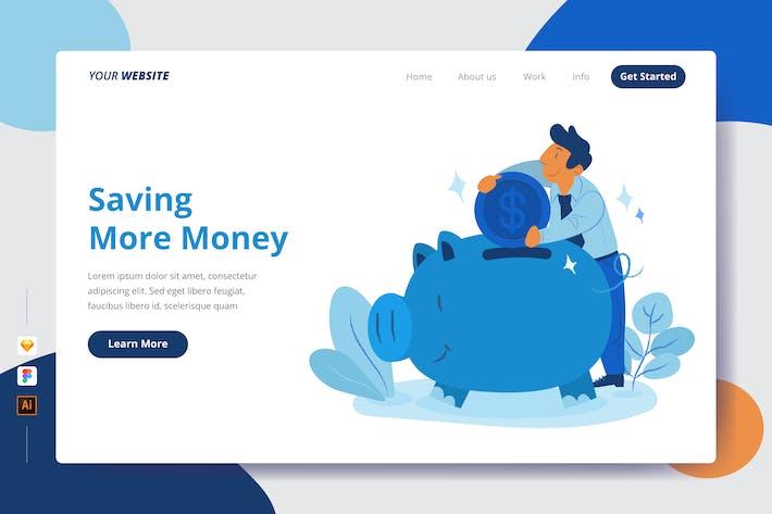 Thumbnail for Mehr Geld sparen - Zielseite