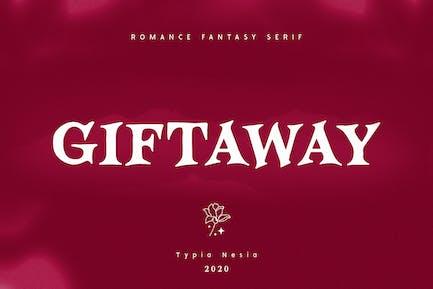 Giftaway - Romance Fantasy Serif