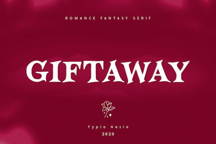 Thumbnail for Giftaway - Romance Fantasy Con serifa