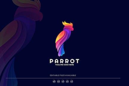 Parrot Gradient Colorful Logo