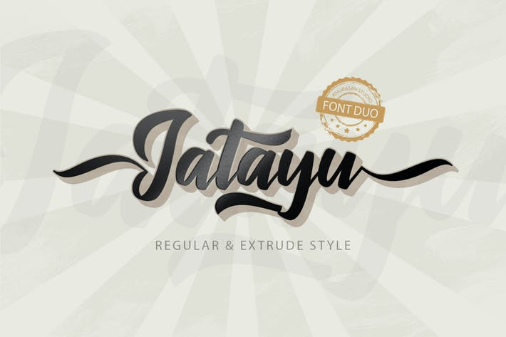 Thumbnail for Jatayu Scipt Font Layered