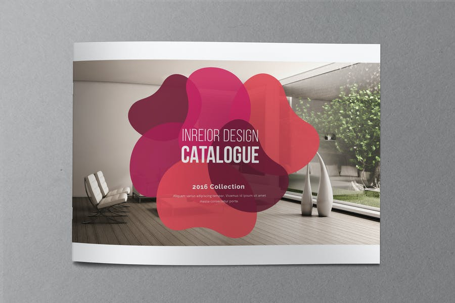 Indesign Catalogue Brochure