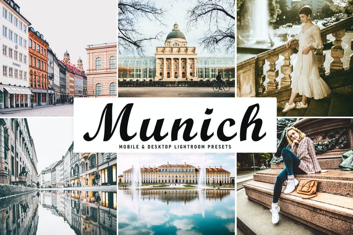 Thumbnail for Munich Mobile & Desktop Lightroom Presets