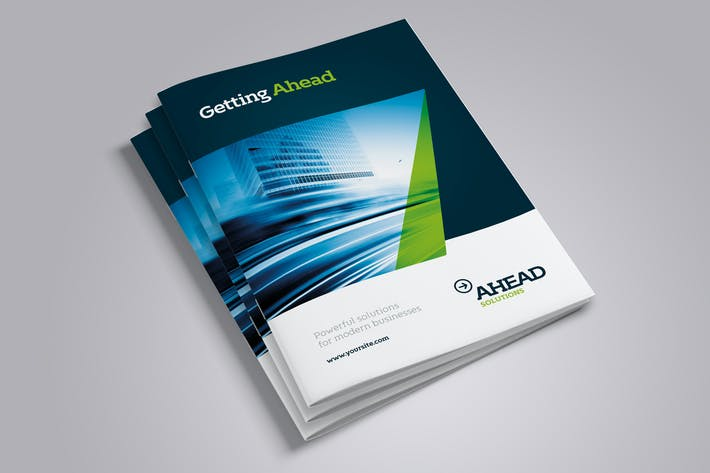 ahead business brochure 8 pages a4 letter by simon cpx on