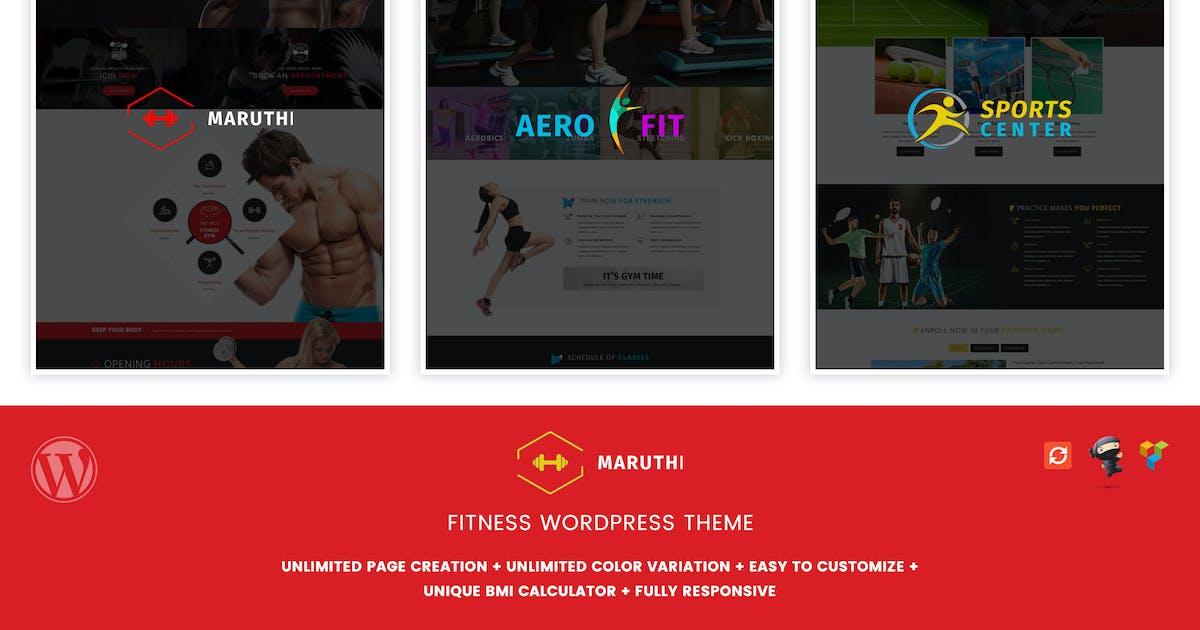 Maruthi Fitness - Fitness Center WordPress Theme by designthemes on Envato Elements