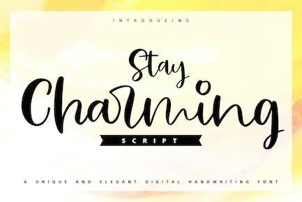 Stay Charming   Fuente de escritura a mano