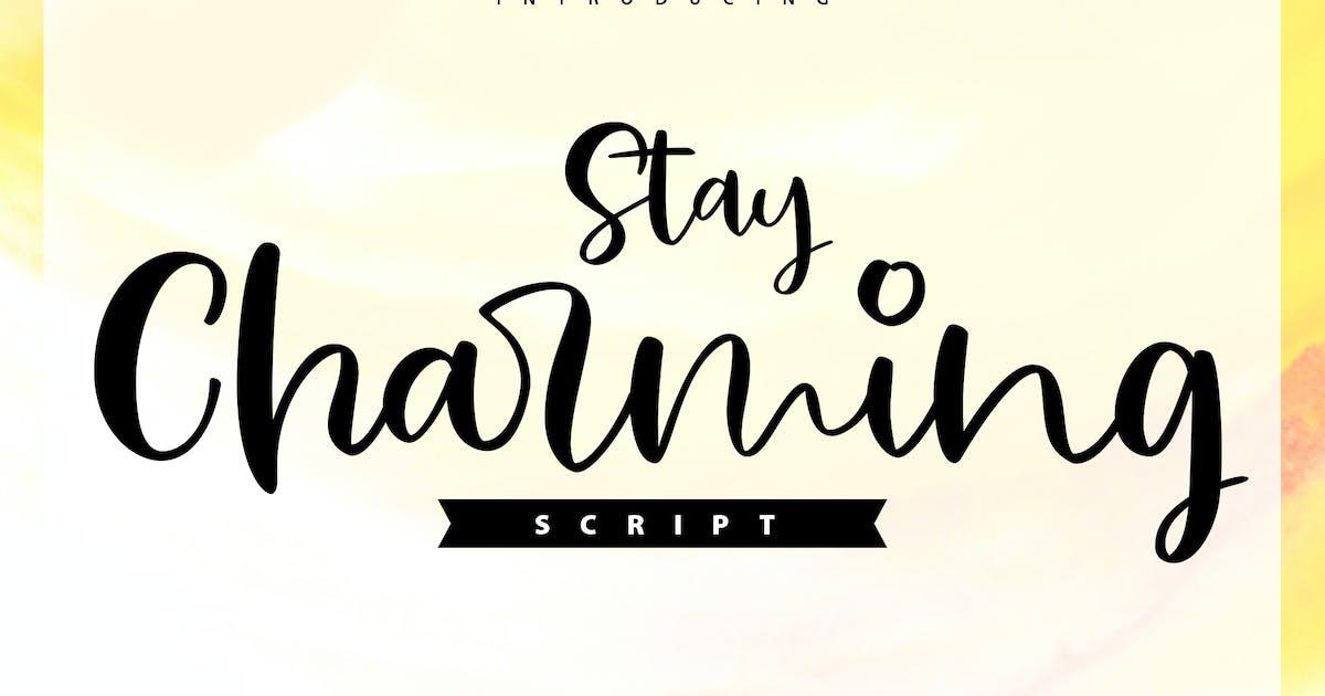 Download Stay Charming | Script Handwriting Font by Vunira