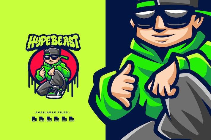 Thumbnail for Логотип персонажа Гипзверя