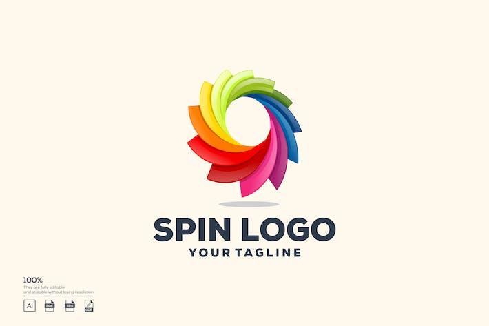 Thumbnail for spin logo design