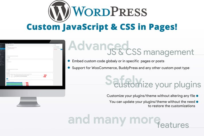 Thumbnail for Custom JavaScript & CSS in Pages!
