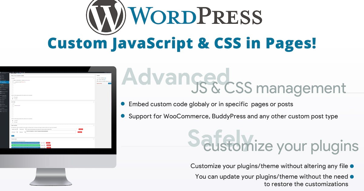 Download Custom JavaScript & CSS in Pages! by vanquish