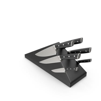Magnetischer Messerblock