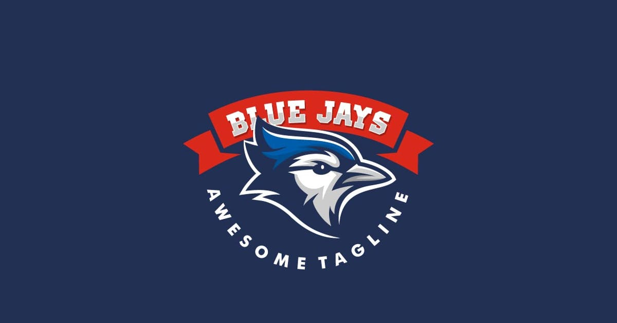 Download Blue Jay Sports and E-sports Style Logo Template by ivan_artnivora