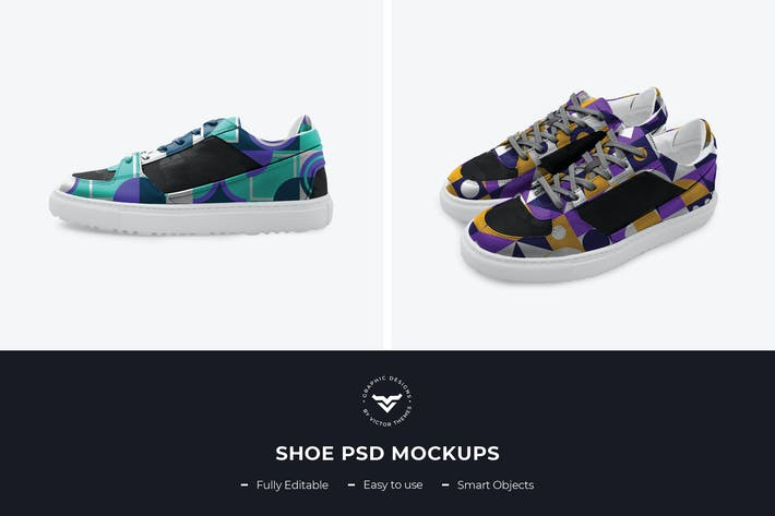 Thumbnail for Shoes PSD Mockup Template