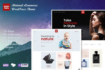 Dukaken — Tema multipropósito de WordPress para WooCommerce
