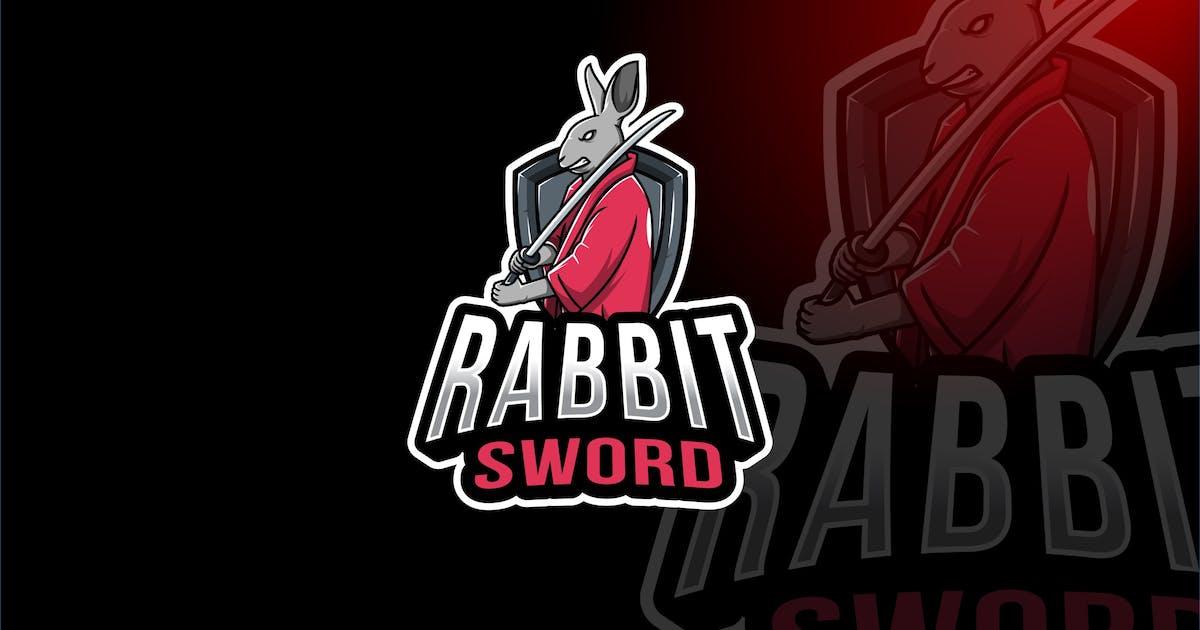 Download Rabbit Sword Esport Logo Template by IanMikraz