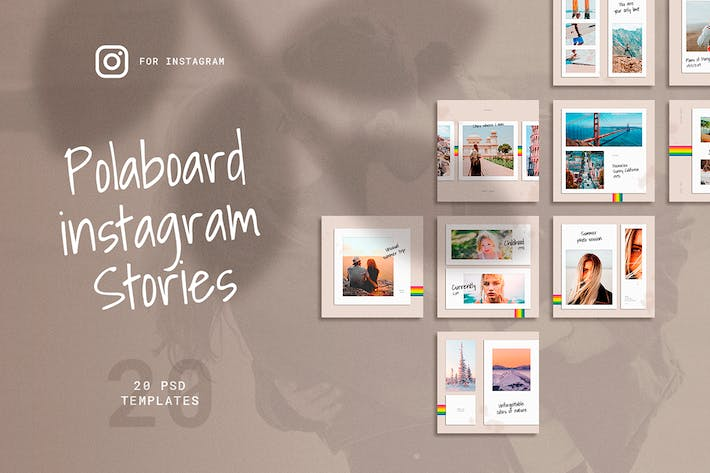 Thumbnail for Polaboard Instagram Social Kit