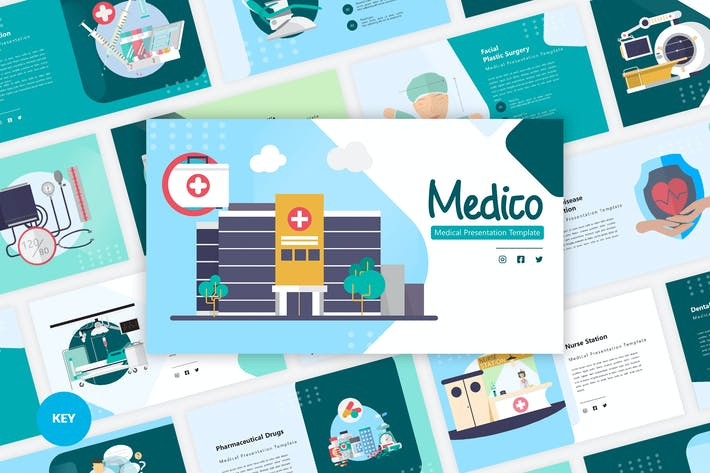 Medico - Medical Keynote Template