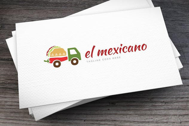 El Mexicano Logo Template - product preview 2