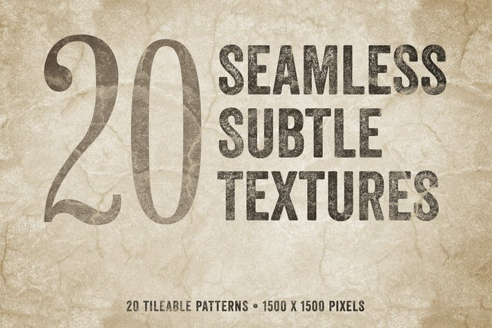 Cover Image For Seamless Subtle Textures Volume 1