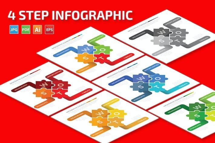Thumbnail for Diseño Infográfico de Swot