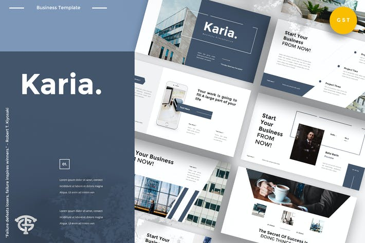 Thumbnail for Karia Business - Google Slides