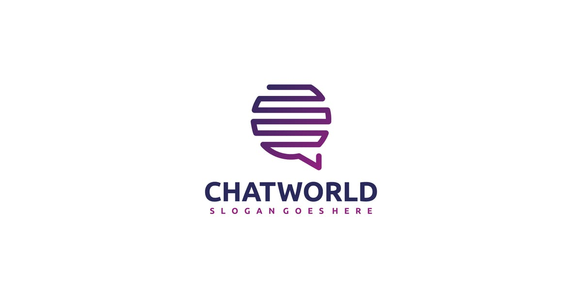 Download Chat World Logo by 3ab2ou