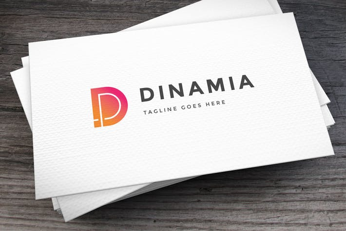 Thumbnail for Dinamia Letter D Logo Template