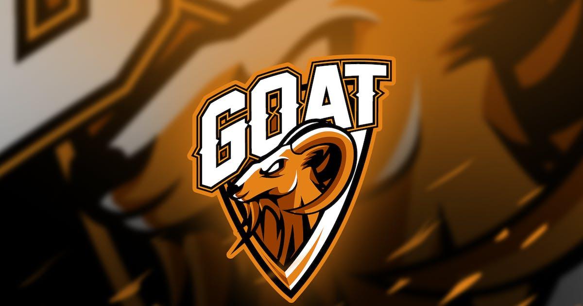 Download goat - Mascot & Esport Logo by aqrstudio