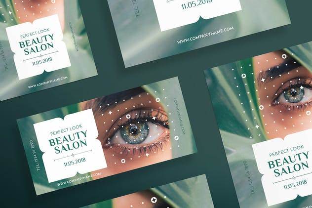 Beauty Salon Flyer and Poster Template