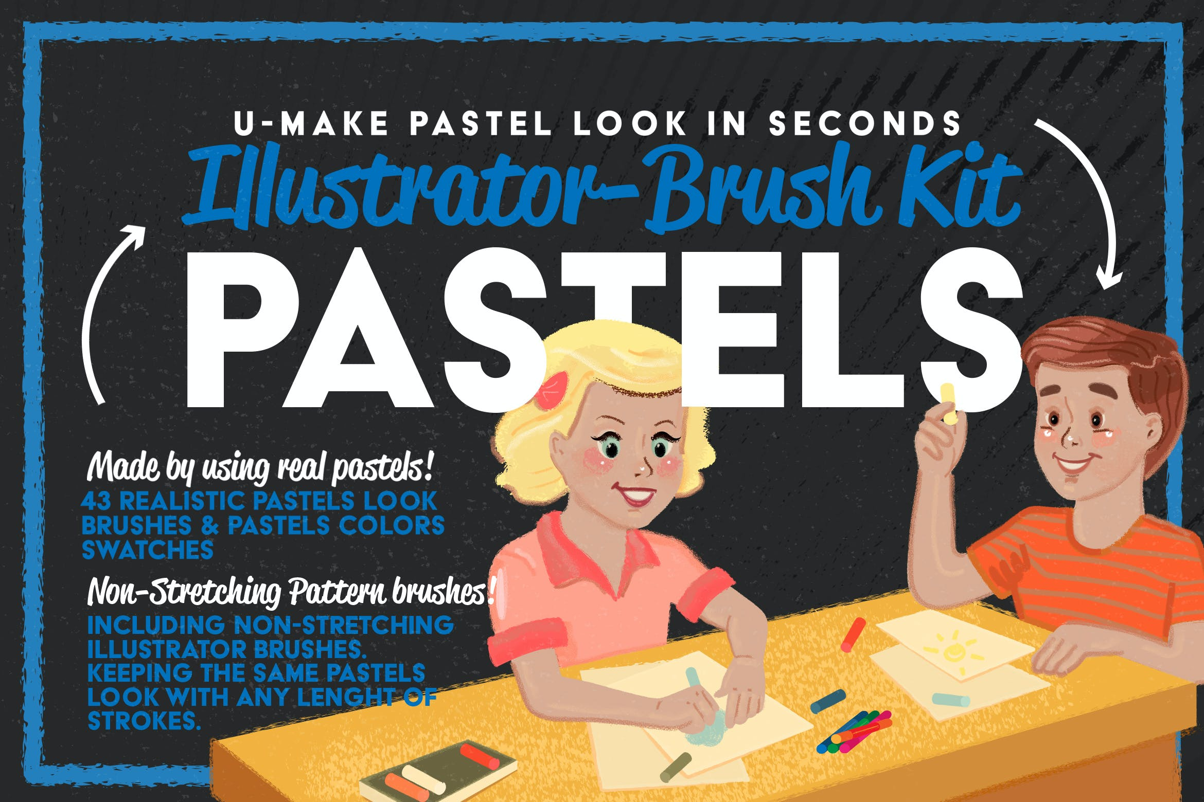 Download 124 Brushes Compatible with Adobe Illustrator