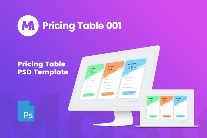 Thumbnail for MA - Pricing Table 001