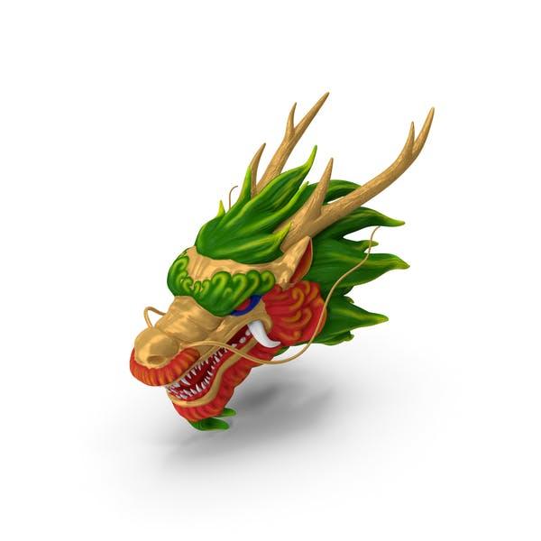 Chinese Dragon Head